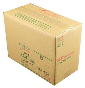(フジフイルム) FUJIFILM  アルバムHDXペーパー通常厚 暗室装填用 マット 25.4CM幅 90M巻 2巻入り