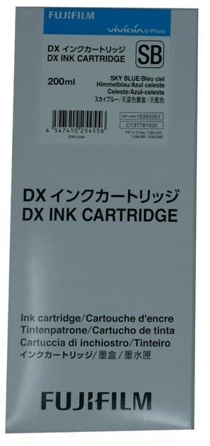 (フジフイルム) FUJIFILM DX100 インクカートリッジ SKYBLUE