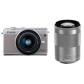 (キヤノン) Canon EOS M100 ダブルズームキット グレー