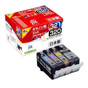 (ジット) JIT JIT-C3203214P 4色マルチパック (B/C/M/Y) インクカートリッジ