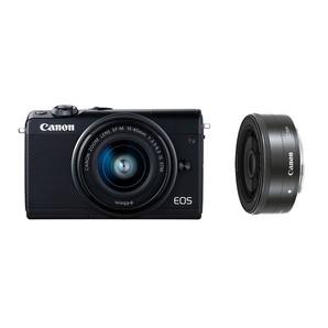 (キヤノン) Canon EOS M100 ダブルレンズキット ブラック