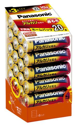 (パナソニック) Panasonic LR6XJ/20SH NEWアルカリ