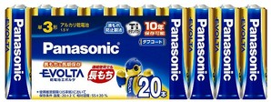 (パナソニック) Panasonic LR6EJ/20SW エボルタ