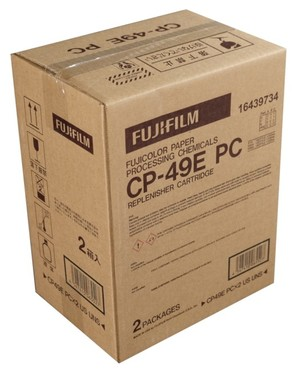 (フジフイルム) FUJIFILM  CP-49E PC ×2 補充カートリッジ シンプルイット
