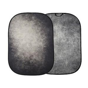 (ラストライト)Lastolite 折りたたみ式 柄背景 1.5x2.1m スモーク/コンクリート LL LB5745