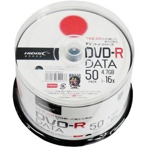 SALE!!(ハイディスク) HIDISC TYDR47JNP50SP  DVD-R データ用 50枚