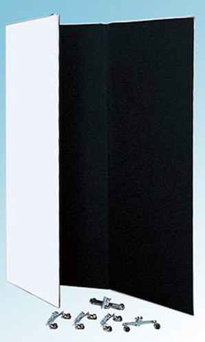 (大矢) Ohya Shoji バウンスボード3面(キャスター別売) ホワイト&ブラック