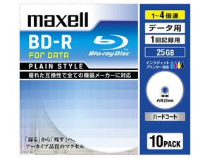 (日立マクセル) maxell BR25PPLWPB.10S データ用ブルーレイ BD-R 10枚