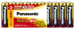 (パナソニック) Panasonic LR6XJ/20SW NEWアルカリ