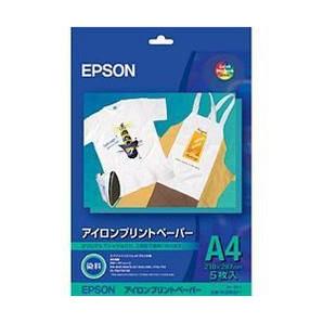 (エプソン) EPSON MJTRSP1  アイロンプリントペーパー A4 5枚