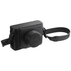 (フジフイルム) FUJIFILM レザーケース LC-X100F ブラック/ブラウン