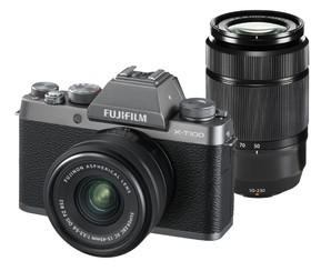 (フジフイルム) FUJIFILM X-T100 XC15-45、XC50-230 ダブルズームレンズキット