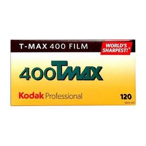 (コダック)EK T-MAX400 TMY120-5P 黒白 ブローニフィルム