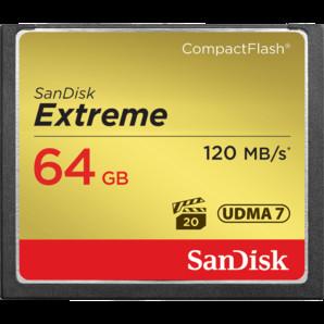 (サンデイスク) SanDisk エクストリーム SDCFXSB-064G-J61 CFカード64GB