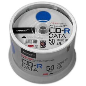 SALE!!(ハイディスク) HIDISC TYCR80YP50SPMG データ用CD-R 50枚
