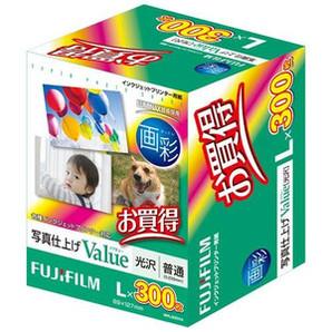 (フジフイルム) FUJIFILM  WPL300VA  写真仕上げValue/L判 300枚