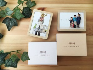 (コラボヌーク) collabo nook PHOTO BLOCK MINI 4入り