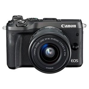 (キヤノン) Canon EOS M6 EF-M15-45 IS STMレンズキット ブラック