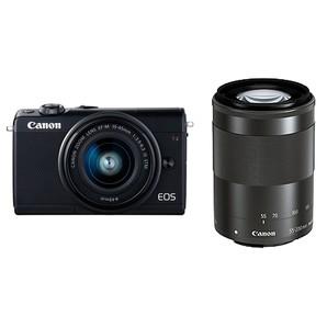 (キヤノン) Canon EOS M100 ダブルズームキット ブラック