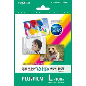 (フジフイルム) FUJIFILM  WPL100VA  写真仕上げValue/L判 100枚