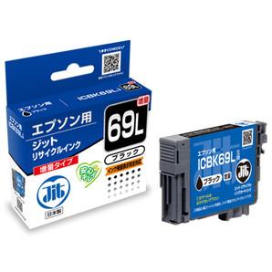 (ジット) JIT JIT-E69BL ブラック インクカートリッジ