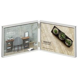 (ハクバ) HAKUBA メタルフォトフレーム SERENA(セレーナ)01 2Lサイズ 2面(ヨコ・ヨコ)各色