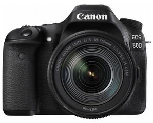 (キヤノン)Canon EOS 80D EF-S18-135 IS USM  レンズキット