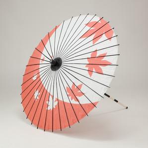(フルヤ)FURUYA 紙傘76cm 紅葉 / 朱色 PK-0711