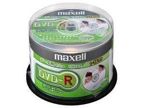 (日立マクセル) maxell DR47PWE.50SP データ用DVD-R 50枚
