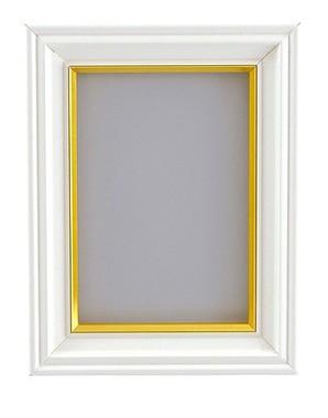 (フジカラー) FUJICOLOR 肖像額縁 パールホワイト 各サイズ