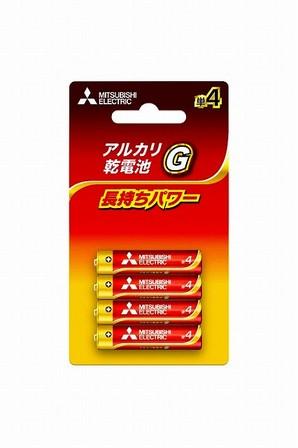 (ミツビシ)ミツビシ LR03GD/4BP アルカリG タン4