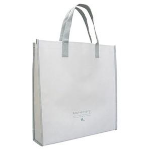 (竹野) TAKENO 778-0026 HU-SQ-ホワイト(手提げ部分グレー)