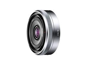 (ソニー) SONY E16mm F2.8 (SEL16F28) シルバー単焦点レンズ Eマウントレンズ