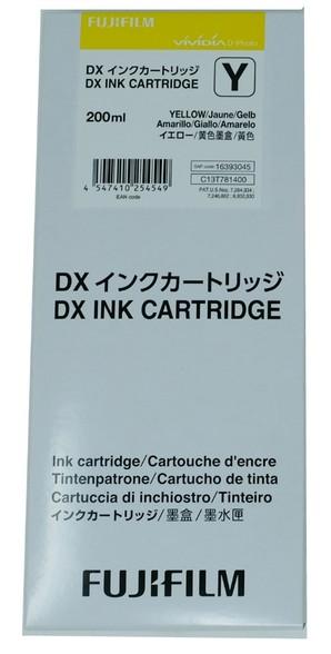 (フジフイルム) FUJIFILM DX100 インクカートリッジ YELLOW