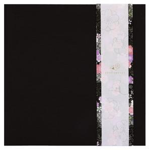 (竹野) TAKENO 和装アルバム色帯/黒8P 488-0001