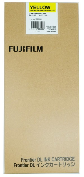 (フジフイルム) FUJIFILM DLドライインク DLIC01CYAN500 イエロー