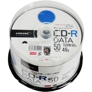 SALE!!(ハイディスク) HIDISC TYCR80YP50SP CD-R データ用  50枚