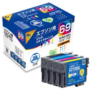 (ジット) JIT JIT-E694PZ 4色マルチパック (B/C/M/Y) インクカートリッジ