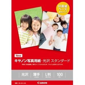 (キヤノン) Canon SD-201L100 写真用紙・光沢スタンダード L判 100枚