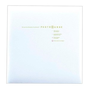 (ナカバヤシ ) NAKABAYASHI 白フリー台紙 20枚 フォトレンジ 【ホワイト】 20L-92-W