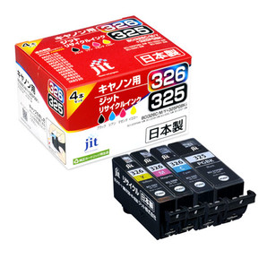 (ジット) JIT JIT-C3253264P 4色マルチパック (B/C/M/Y) インクカートリッジ