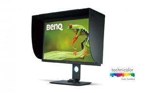 BenQ(ベンキュー)31.5型4K UHD Adobe RGBカラーマネージメント フォトグラファー向けディスプレイSW320