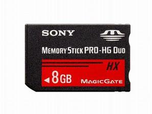 (ソニー) SONY MS-HX8B メモリースティックPRO HG Duo 8GB