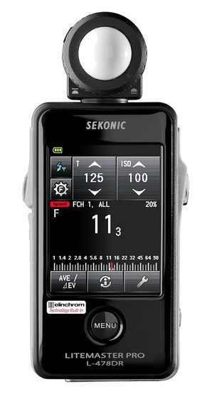 (セコニック)Sekonic L-478DR-EL ライトマスタープロ