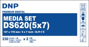 (ディー・エヌ・ピー)DNP DS620用メディアセット L/2L用 230×2本
