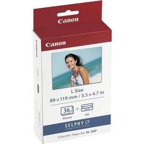 (キヤノン) Canon KL-36IP カラーインク/ペーパーセット L判 36枚