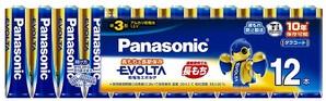 (パナソニック) Panasonic LR6EJ/12SW エボルタ