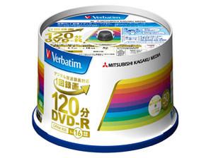 (三菱化学メディア) バーベイタム VHR12JP50V4 録画用DVDーR 50枚